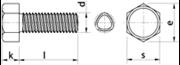 Vite autoformante (trilobata) Testa Esagonale Zincato Bianco