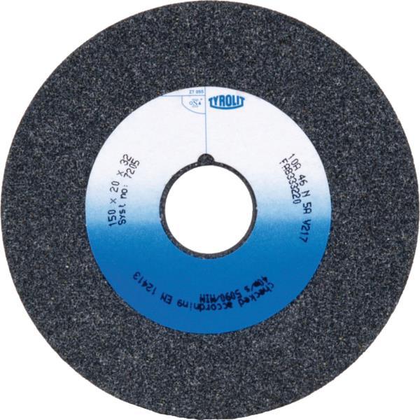 Immagine di Mole per smerigliatrici stazionarie da banco, ceramica convenzionale Per acciai non legati e bassolegati
