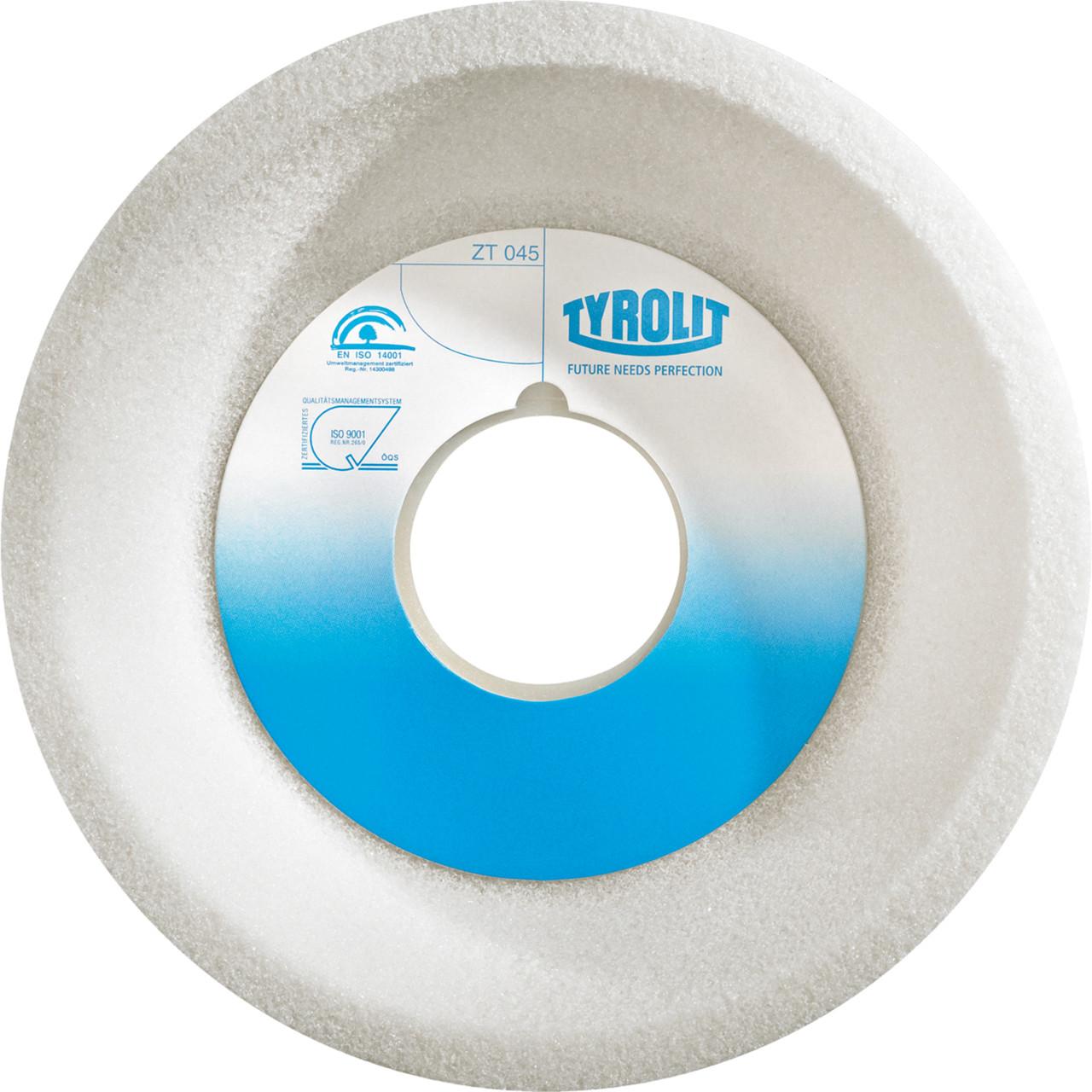 Immagine di Mola ceramica convenzionale per rettifica a secco Per acciai non legati e a bassa lega, acciai altamente legati e superrapidi.