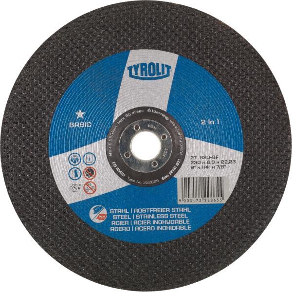 Immagine di Mole per sgrossatura BASIC* 2in1 per acciaio e acciaio inossidabile