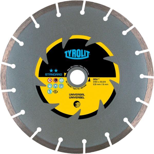 Immagine di DCU per il taglio a secco per materiali da construzione universali