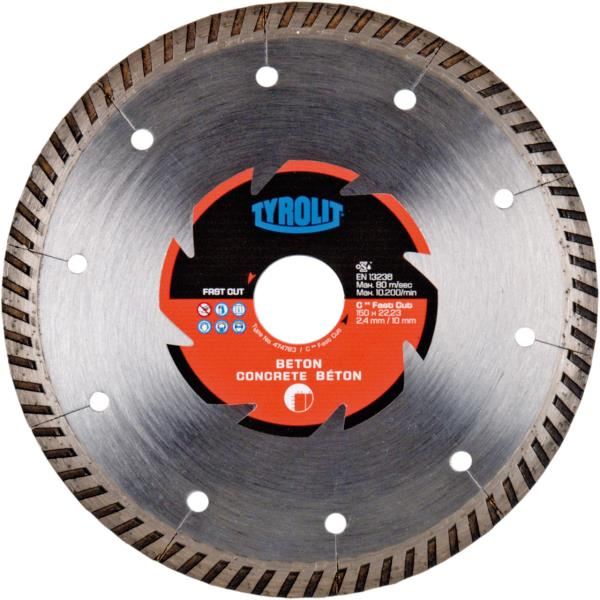 Immagine di DCC-FAST CUT per il taglio a secco per calcestruzzo