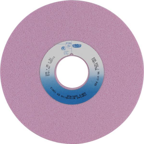 Immagine di Rettifica in piano di profili, ceramica convenzionale Per acciai altolegati