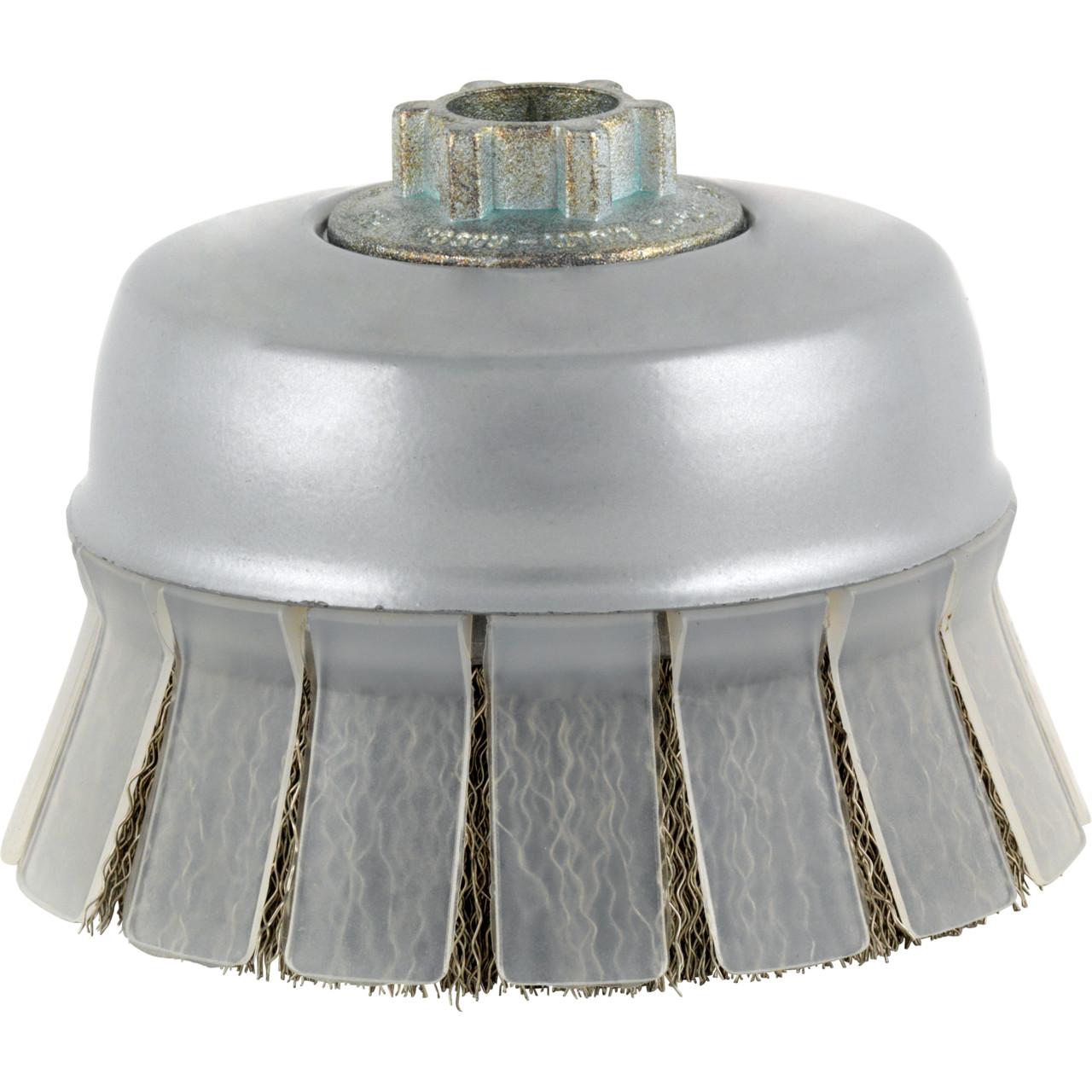 Immagine di Spazzole a tazza SHIELD PREMIUM*** per acciaio inossidabile