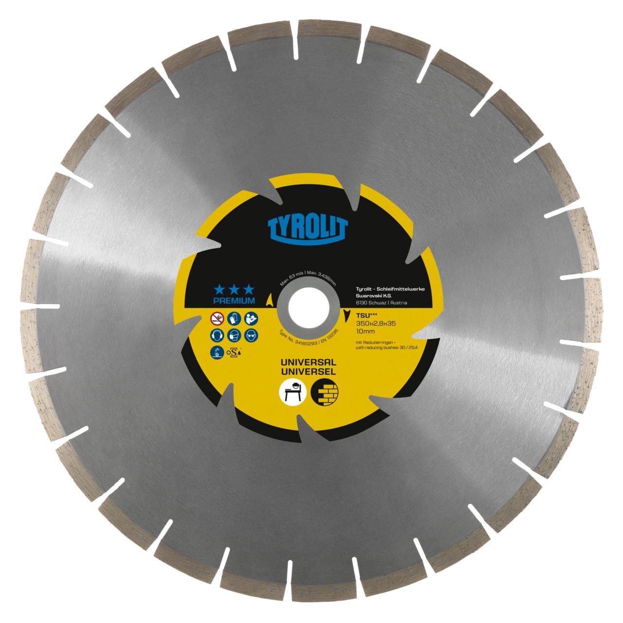 Immagine di TSU-SILENT Disco diamantato per taglierina per materiali da costruzione universali