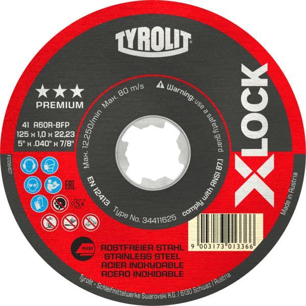 Immagine di Mole troncatrici PREMIUM *** X-LOCK per acciaio inossidabile