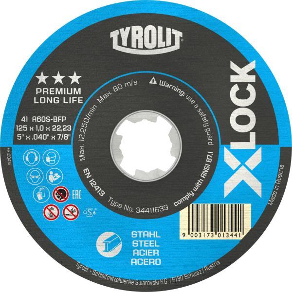Immagine di Mole troncatrici PREMIUM*** X-LOCK LONGLIFE per acciaio