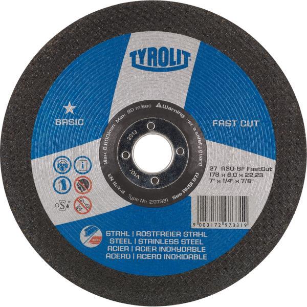 Immagine di Mole per sgrossatura FASTCUT BASIC* per acciaio e acciaio inossidabile